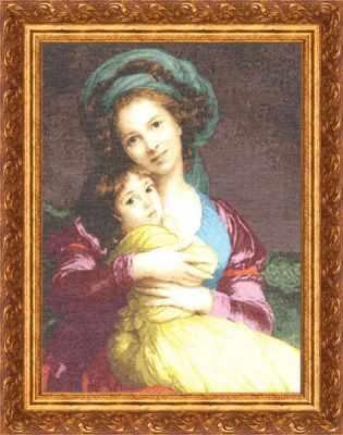 Набор для вышивания Золотое Руно МК-002 Материнская любовь
