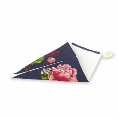 Набор для вышивания Life is beautiful ТК0110 Чехол для ножниц малый синий