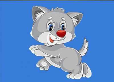 Фото - Алмазная мозаика Наследие Алмазная вышивка БСА5-010 Весёлый котик 3572058 алмазная мозаика для детей котик емкость стержень с клеевой подушечкой