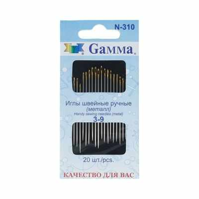 Игла Gamma №3-9 N-310 Иглы ручные Gamma для вышивания gamma gamma колготки для девочки черные