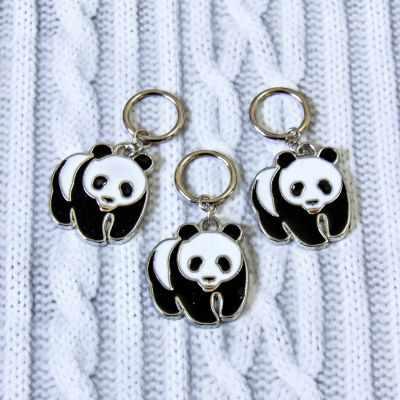 Аксессуар для вязания - Маркеры для вязания. Панда