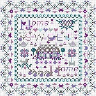 Набор для вышивания RIVERDRIFT House RR097 Home sweet home keenway набор home sweet home дом с предметами
