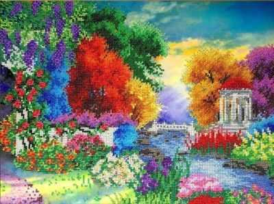 Набор для вышивания FeDi КВ534 Краски природы