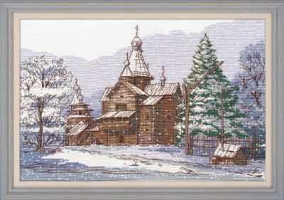 Набор для вышивания Овен 1216 Витославлицы. Великий Новгород