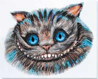 Фото - Набор для вышивания Абрис Арт АВ-687 Чеширский Кот набор для вышивания абрис арт ав 687 чеширский кот