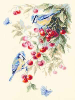 Фото - Набор для вышивания Чудесная игла 130-021 Синицы и вишня чудесная планета земля