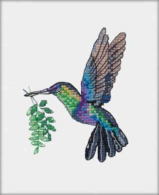 1227 Радужная птичка