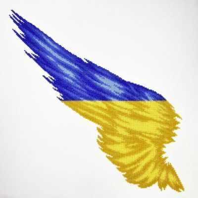 Набор для вышивания MiniArt 22008 Флаг Крыло Украина