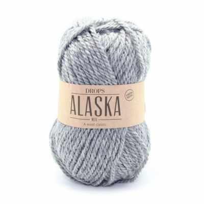 цена Пряжа DROPS Пряжа DROPS Alaska Цвет.04m Grey/серый онлайн в 2017 году