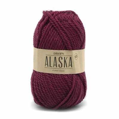 Пряжа DROPS Пряжа DROPS Alaska Цвет.53 Ruby red/рубиново-красный