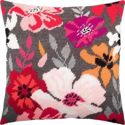 Набор для вышивания Чарiвниця V260 Красные цветы