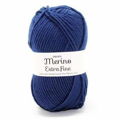 Пряжа DROPS Пряжа DROPS Merino Extra Fine Цвет.20 Dark/ темн.синий