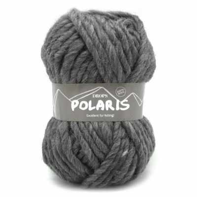 Пряжа DROPS Пряжа DROPS Polaris Цвет.03 Dark grey/т.серый