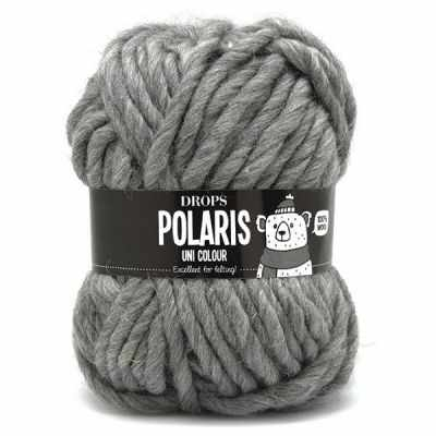 Пряжа DROPS Пряжа DROPS Polaris Цвет.04 Medium grey/серый