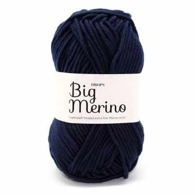 Пряжа DROPS Пряжа DROPS Big Merino Цвет.17 Темно-голубой
