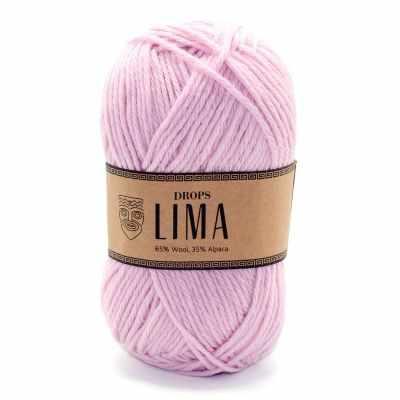 Пряжа DROPS Пряжа DROPS Lima Цвет.3145 Powder pink/розовая пудра