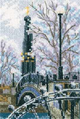 Набор для вышивания РТО C307 Мостик вздохов в Лопатинском саду