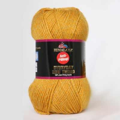Пряжа Himalaya Пряжа Himalaya Everyday new tweed Цвет.75103 т.желтый