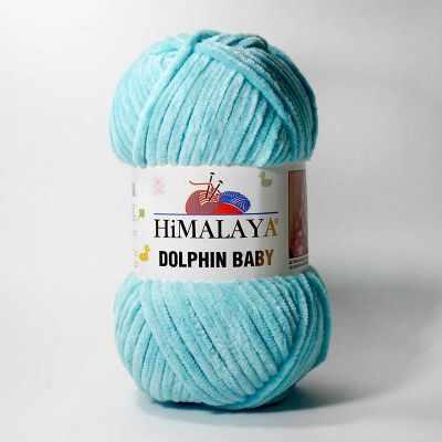 Пряжа Himalaya Пряжа Himalaya Dolphin Baby Цвет.80335 Св.бирюза