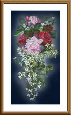СР 6235 Цветочный каскад