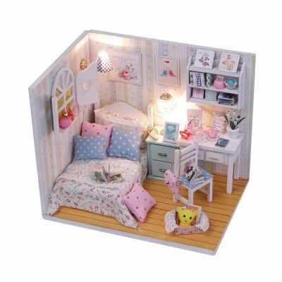Набор для изготовления румбокса Cute room M013 Комната Полины тайна полины
