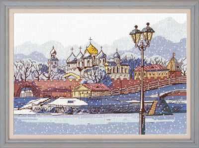 Набор для вышивания Овен 1218 Кремлевская набережная