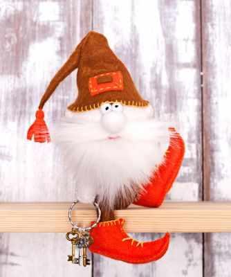 Набор для изготовления игрушки Перловка ПФГ-1559 Гном ключник - игрушка (Перловка)