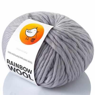 Пряжа RAINBOW BIRD Пряжа RAINBOW BIRD RAINBOW WOOL Цвет.SiIver пряжа rainbow bird пряжа rainbow bird rainbow wool цвет smoky violet