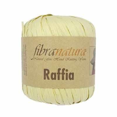 Пряжа Fibra Natura Пряжа Fibra Natura Raffia Цвет.116-02 шампанское