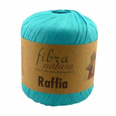 Пряжа Fibra Natura Пряжа Fibra Natura Raffia Цвет.116-09 бирюза