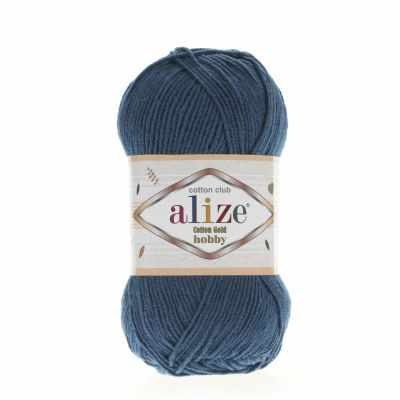 Пряжа Alize Пряжа Alize Cotton Gold Hobby Цвет.17 Петроль