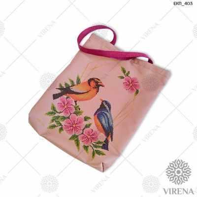 Набор для вышивания VIRENA ЕКП_403 Набор для вышивания на Эко-сумке