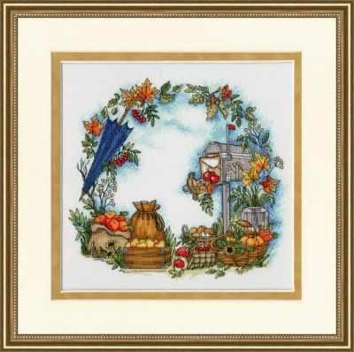 Набор для вышивания Золотое Руно КП-005 Осенние письма