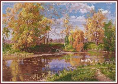 1240 Осенний пруд