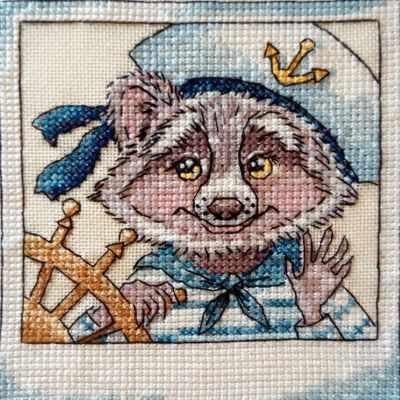 Фото - Набор для вышивания Neocraft РЗ-30 Морской волк набор для вышивания neocraft рз 28 листопад neocraft