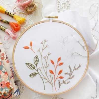 Набор для вышивания Tamar Nahir-Yanai T-006 Autumn Leaves (Осенние листья)