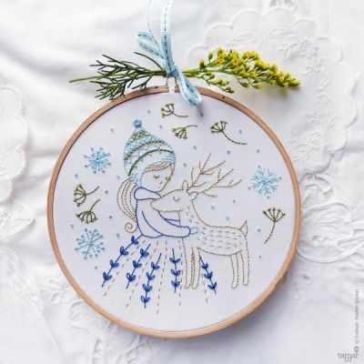 Набор для вышивания Tamar Nahir-Yanai T-015 Golden Deer (Золотой олень)