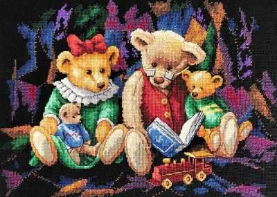 Набор для вышивания Classic Design 4472 Сказки на ночь