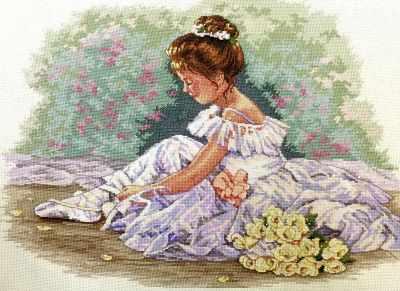 Набор для вышивания Classic Design 4471 Маленькая танцовщица