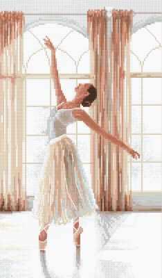 Набор для вышивания LETISTITCH 906 - Балерина