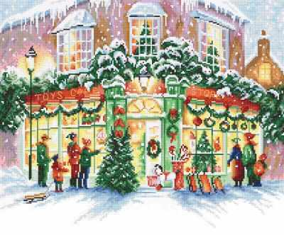 914 - Рождественский магазин