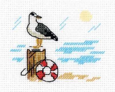 Набор для вышивания Кларт 8-386 Зарисовки. Чайка