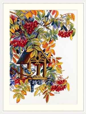 Набор для вышивания Мережка К-151 Colorful Rowan