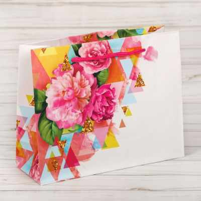 Подарочный конверт Дарите Счастье 2640194 Пакет подарочный ламинированный «Счастья!»