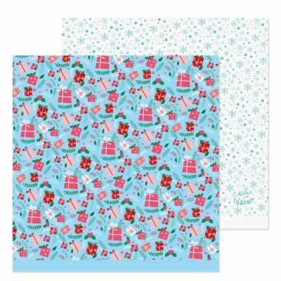 Бумага для скрапбукинга Арт Узор 3309650 Бумага для скрапбукинга «Подарочки»