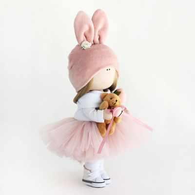 Набор для изготовления игрушки Арт ткани Набор для шитья текстильной куклы Рози