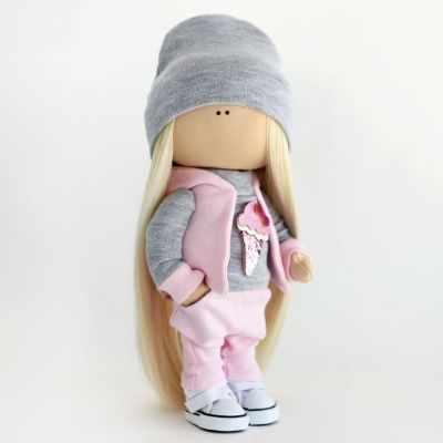 Набор для изготовления игрушки Арт ткани Набор для шитья текстильной куклы Кристи