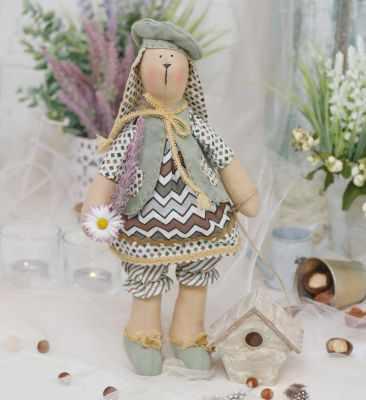 Набор для изготовления игрушки HappyMade Ш119 Набор для шитья и рукоделия Зайка Дарси набор для творчества цветница набор для шитья текстильной игрушки зайка романтик