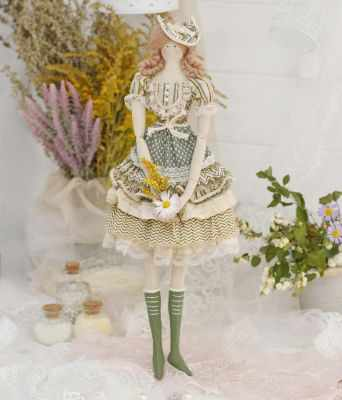 Набор для изготовления игрушки HappyMade Ш102 Набор для шитья и рукоделия Мисс Глория