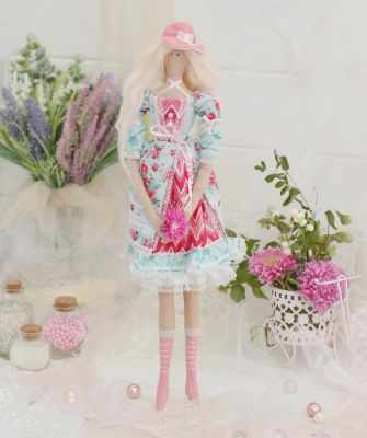 Набор для изготовления игрушки HappyMade Ш100 Набор для шитья и рукоделия Мисс Клаудия